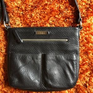 COLE HAAN 💯 Authentic LEATHER CROSSBODY BAG